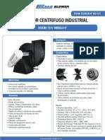 Ventilador Centrifugo Industrial