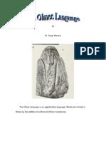 Olmec Language