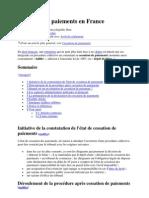 Cessation de paiements en France - Wikipédia