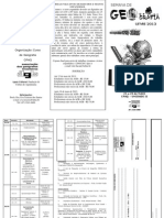 Folder Semana de Geografia2013