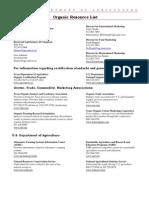 6804 Organic Resource List