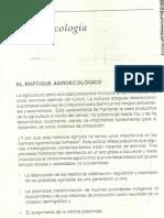 Modulo 1 Capitulo 4 Agroecologia El Enfoque Agroecologico