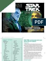 2E Star Trek CCG - Call to Arms Rulebook