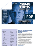 2E Star Trek CCG - Second Edition Rulebook