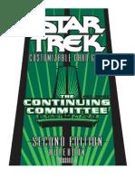 2E Star Trek CCG - Continuing Committee Rulebook V3