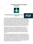 Quantum Mechanics, Relativity and Spatial Dynamics