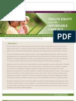 Colorado Trust ACA Racial Ethnic Health Equity