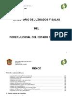 Directorio Juzgados Edo Mex