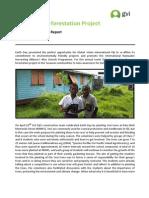 Achievement Report April 2013 - Earth Day