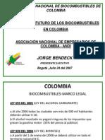 Biocombustibles en Colombia-ANDI