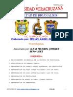 Manual de Laboratorio de Toxicologia - Ortiz M.