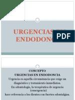 Urgencias en Endodoncia