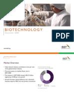 Indian Biotech Industry Presentation 010709
