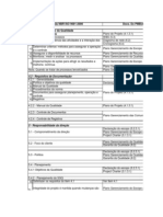PMI PMP NBR ISO 9001 Planilha de Gerenciamento de Projetos