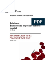 Diagnostic Du Paludisme