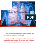 The Thorax and Lungs Assessment [Autosaved]