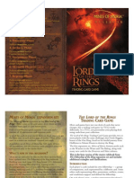 LotR TCG - 2 - Mines of Moria Rulebook