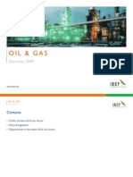 Indian Oil and Gas Industry Presentation 010709