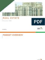 Indian Real Estate Industry Presentation 010709