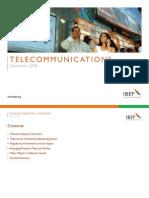 Indian Telecom Industry Presentation 060109
