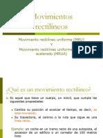 Movimientos Rectilineo