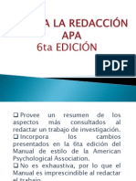 Diapositivas APA