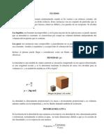 Fluidos, Presión y principio de Pascal