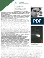 El físico portugués que discute a Einstein