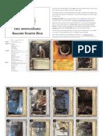 LotR CCG 1A - Fellowship Aragorn Starter Deck 2002