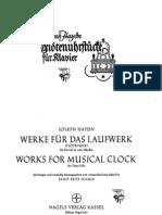 Flotenuhrstücke (Haydn)