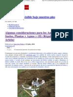 Algunas consideraciones para los Análisis de Suelos, Plantas y Aguas y _(II_) _(Régulo León Arteta_)