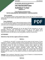 Solucionario – CEPREUNMSM – 2011-II – Boletín 6 – Áreas Academicas A, D y E