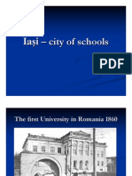 Iaşi – city of schools