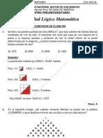 Solucionario – CEPREUNMSM – 2011-II – Boletín 8 – Áreas Academicas A, D y E