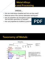 Ch 11-Metal Alloys Applications and Processing