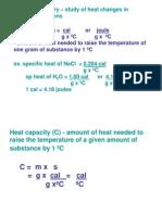 Chem100- Thermochem