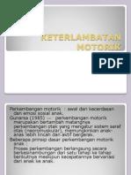 Power Point Keterlambatan Motorik