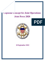 Chairman's Concept for Joint Operations