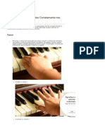 Como Posicionar Os Dedos Corretamente Nas Teclas de Piano - WikiHow