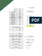 Cálculo de la altura de la chimenea