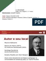 Apresentação texto Memória individual e memória coletiva HALBWACHS.pdf