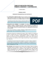 CATESISMO DE INICIACION CRISTIANA P. Misael Castaño