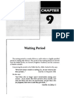 The Waiting Period - Shaykh Fawzan's Fiqh Book