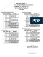 Jadwal Jaga Kelompok 11 - j Rsmp