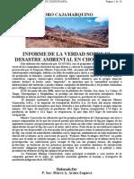 5- Informe Padre Arana - Informe de La Verdad Sobre El Desastre Ambiental en Choropampa