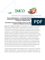 Timco Worldwide Inc. Announces Long-Term Partnership with Origene Seeds