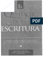 Gracida Juárez, el quehacer de la escritura