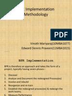 BPR Implementation Methodology