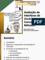 IHC-Avaliação de Interfaces de Usuário – Conceitos e Métodos