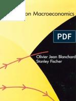 Lectures on Macroeconomics - Blanchard, Fischer